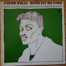 Delmark DL-640 Junior Wells Blues Hit Big Town