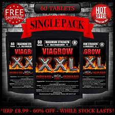60 Viagrow XXL Penis Enlargement Male Enhancement Sex Libido Sex Drive Increase