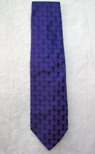 "Alfani Men's Tie Made in Italy Purple & Blue 100% Silk  57"" x 4"" WPL 8046 (38)"