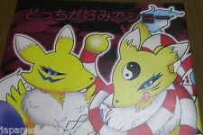 Digimon Yo-Kai Watch doujinshi Renamon & Kyubi (A5 20pages) mikanmeshi Kemono