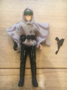 1985 LUKE SKYWALKER BATTLE PONCHO Complete Vintage Power of the Force COMPLETE