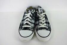 Converse All Star Ox Style Trainers Mens Size EU 41.5 UK 8 Black GRADE A AC095