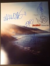 """INCUBUS Band(x5) Hand-Signed """"Morning View"""" 16x20 Photo (PROOF) BRANDON BOYD"""