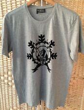 The Kooples Sport Gris Taille M T-shirt gris Top velours noir Design