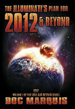 THE ILLUMINATI'S PLAN FOR 2012 & BEYOND - Vol. 1  by Doc Marquis. Set of 2 DVDs.
