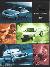1999 TOYOTA Brochure: CELICA,COROLLA,CAMRY,TACOMA,LAND CRUISER,RAV4,4RUNNER,Fore
