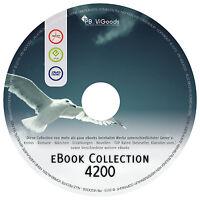 MEGA eBook Sammlung auf DVD 4200 eBooks KRIMI Abenteuer Science Fiction