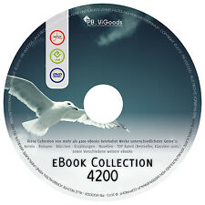 MEGA eBook Sammlung auf DVD 4200 eBooks KRIMI Abenteuer Science Fiction