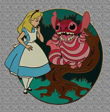 Stitch as Cheshire Cat Pin - Disney Auctions Le 1000 - Alice in Wonderland