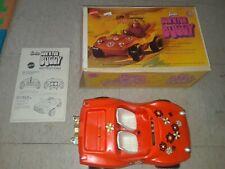 Vintage 1970 Mattel Barbie Sun' N Fun Buggy Original Box & Manual Working
