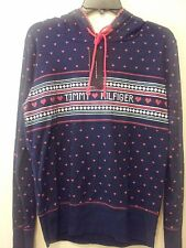 Tommy Hilfiger Medieval Hearts Vintage Henley Hood Top (M), w/ classic lettering