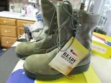 NEW BELLEVILLE MEN'S 650ST WATERPROOF GORETEX STEEL TOE BOOT (SAGE) 7.5 R NIB