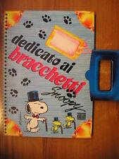 DEDICATO AI BRACCHETTI Snoopy 1° edizione Mondadori 1988 Peanuts charlie Brown