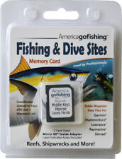Middle Keys Monroe County Fishing & Dive Sites Memory Card