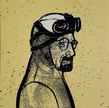 Breaking Bad Art Print Walter White Glow in the Dark GID Heisenberg Call Saul