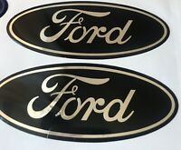 Ford Fiesta Focus Mondeo 3 X Gel Domed Badges Any Colours Or Model Can Be Done