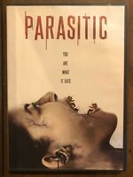 Parasitic (DVD, 2012) Rare Horror Monsters Creatures OOP