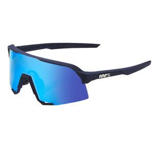 Cycling Sunglasses - Matte Dark Blue / Blue Mirror