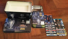 2 TIN BOX CHAMPIONS LEAGUE 2014 2015 ADRENALYN XL PANINI + 2 SET COMPLETI