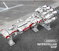 Lego Star Wars Megablok 100%Compatibil 2905pz ☆ MOC STARSHIP INTERSTEL☆ ► NEW ◄