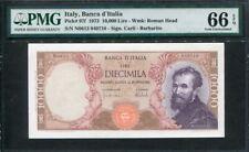 Italy 1973, 10000 Lire, P97f, PMG 66 EPQ GEM UNC