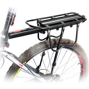 Fahrrad Alu Gepäckträger verstellbar für Sattelstütze Mountainbike MTB hinten