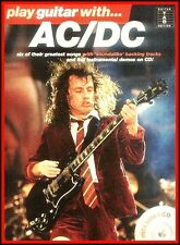 Ac/Dc Songbook + CD Play Guitar with Tab Noten Chords Lyrics auch Instrumentals