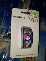 NEW DISNEY MINNIE MOUSE BOHO FLORAL PINK Magic Band Magicband Flowers