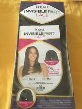 Equal Lace Front Invisible Part Wig -Unix Color 99J - Free Shipping