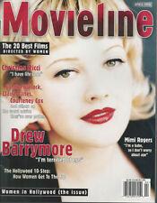 DREW BARRYMORE  Christina Ricci  MIMI ROGERS April 1998 Movieline magazine