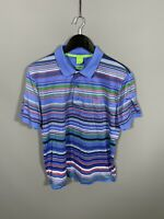 HUGO BOSS Polo Shirt - Large - Modern Fit - Striped - Great Condition - Men's