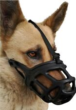 Dog Muzzle, Breathable Basket Muzzles for Small, Medium, Large and X-Large Dogs,