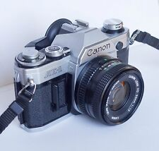 Canon AE-1 SLR w/ Canon FD 50mm f/1.8 Lens – TESTED
