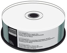 25 Mediarange Rohlinge CD-R full printable 100Min 900MB 48x Spindel