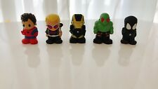 5x Kids Children Miniature OOSHIES Marvel Pencil Topper Figure minifigure Toy
