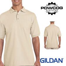 Gildan Ultra Cotton Adult Piqué Plain Polo Shirt Tee T Shirt Ringspun Polo Shir