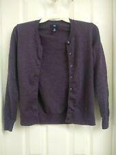 Women's Gap XS Cardigan Sweater Purple