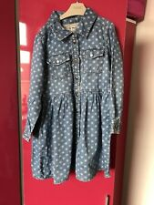 Girls Dress With Flower Print From Next 4/5Years Old