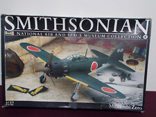 4451 Revell Smithsonian Japanese Zero 1/32 Scale Airplane Model Kit WW2 museum