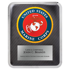 Marine Hero Plaque - Personalized