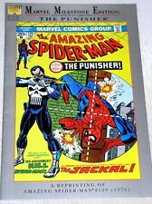 AMAZING SPIDER-MAN #129   MILESTONE REPRINT  1ST APP OF THE PUNISHER  rb