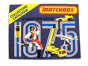 Lesney / Matchbox Katalog - 1975 - USA / VNM / 9,5