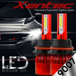 2018 488W All-In-One LED Headlight Kit 9007 High/low Beam 6000K Bulbs US Stock