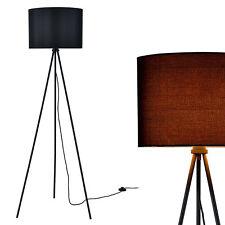 [lux.pro] Lámpara de pie [ Al. : 155cm ] suelo negro