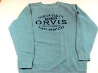 Orvis Men's Medium Active Wear/ Sweatshirt