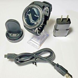 Samsung Gear S3 Frontier, SM-R760, Bluetooth + Wi-Fi, 46mm, Black, No Box