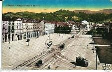 pi 072 1928 TORINO Piazza Vittorio Veneto - Tram - Viagg. FP