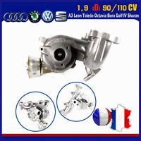 Turbocompresseur GT1749V turbo 454232-5 / 713672-6 VW Bora Golf IV 1.9 TDI