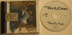 TORVILL & DEAN...FACE THE MUSIC...AUSTRALIAN TOUR SOUVENIR EDITION MUSIC CD