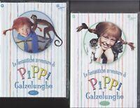 7 Dvd x 2 Box Cofanetto PIPPI CALZELUNGHE serie completa nuovo sigillato